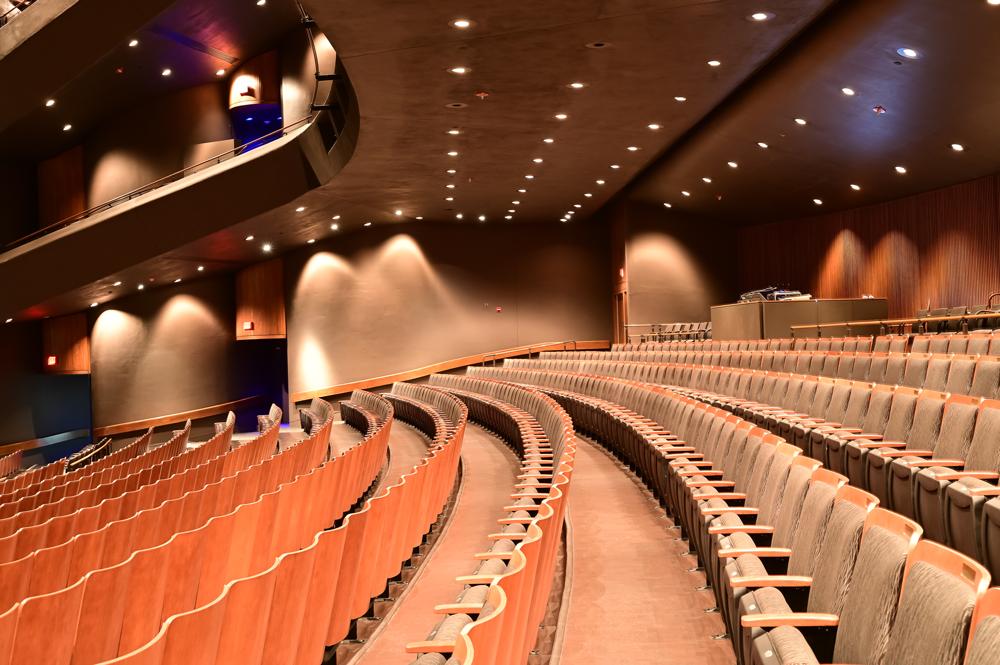 Bass Concert Hall Renovation after