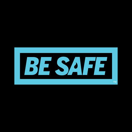 be safe website graphic