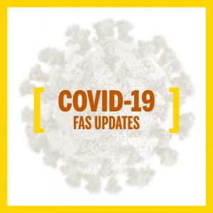 COVID-19 FAS Updates Graphic
