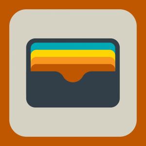 Digital wallet graphic
