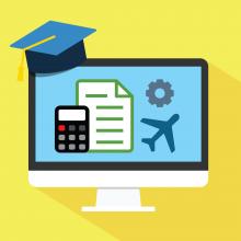 Accounting training graphic