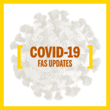 COVID-19 FAS Updates Graphic