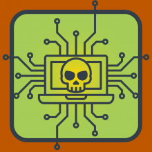 Decorative Cyber secuity icon