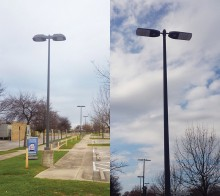 Campus light fixtures to be maintained by the UEM ED team