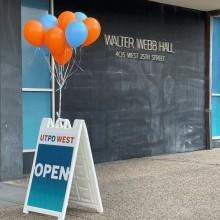 UTPD West Now Open