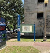 campus signage