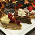 Thanksgiving pie options at the Commons