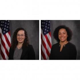 Marica Kelley, VAN Program Coordinator (Left) and Danica Morgan, VAN Caseworker (Right)