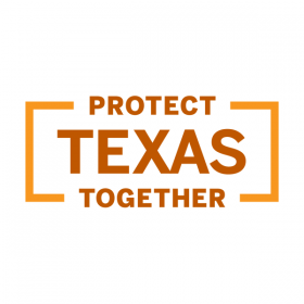 Protect Texas Together brand mark